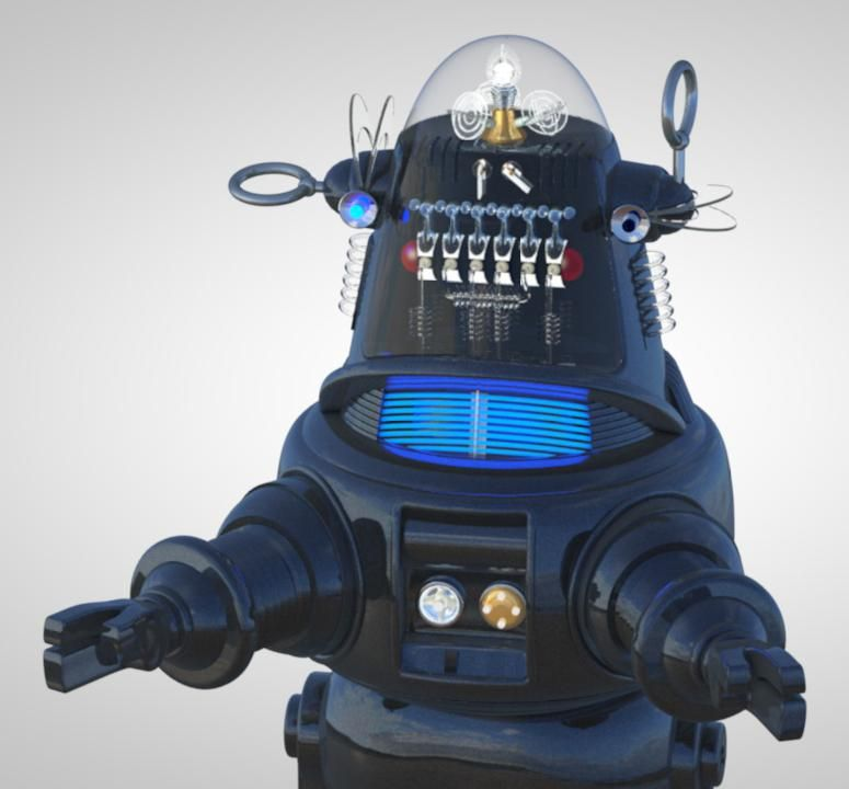 Robby the Robot - image 1 - student project