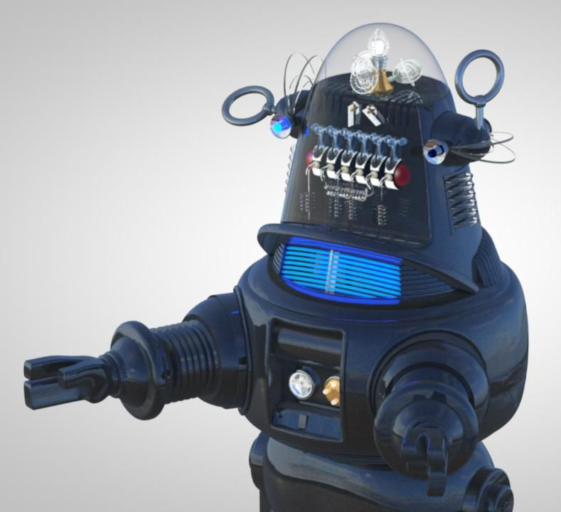 Robby the Robot - image 3 - student project