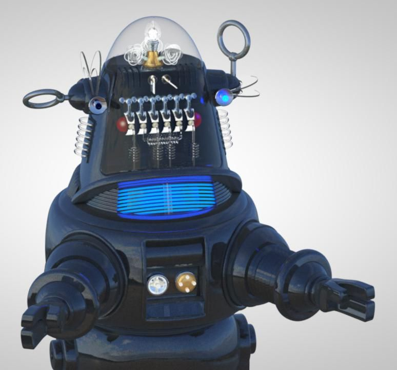 Robby the Robot - image 2 - student project