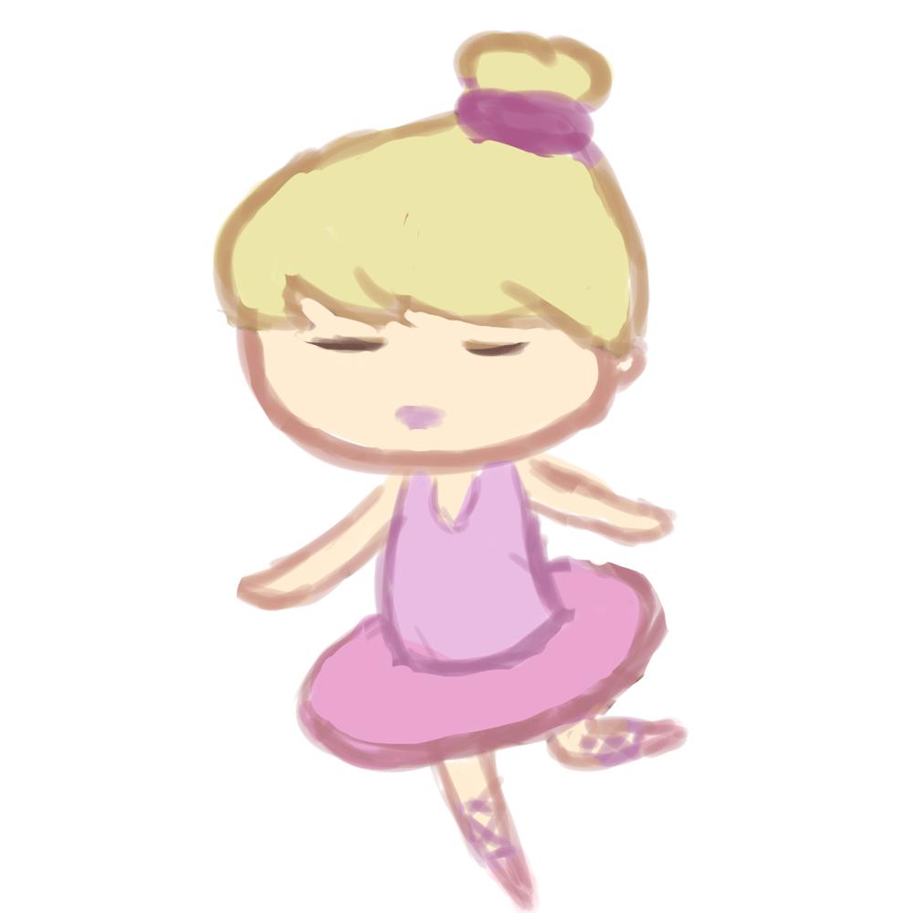 Cutie Ballerina - image 1 - student project