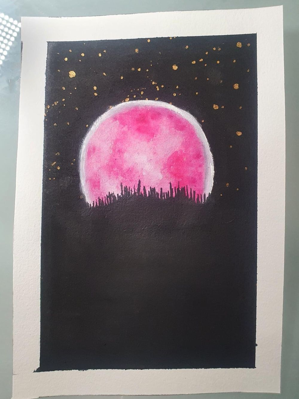 Glowing Moon - image 3 - student project
