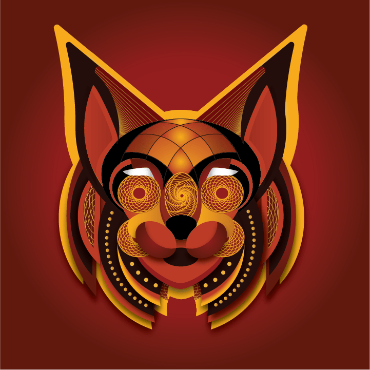 Abstract Bobcat - image 1 - student project