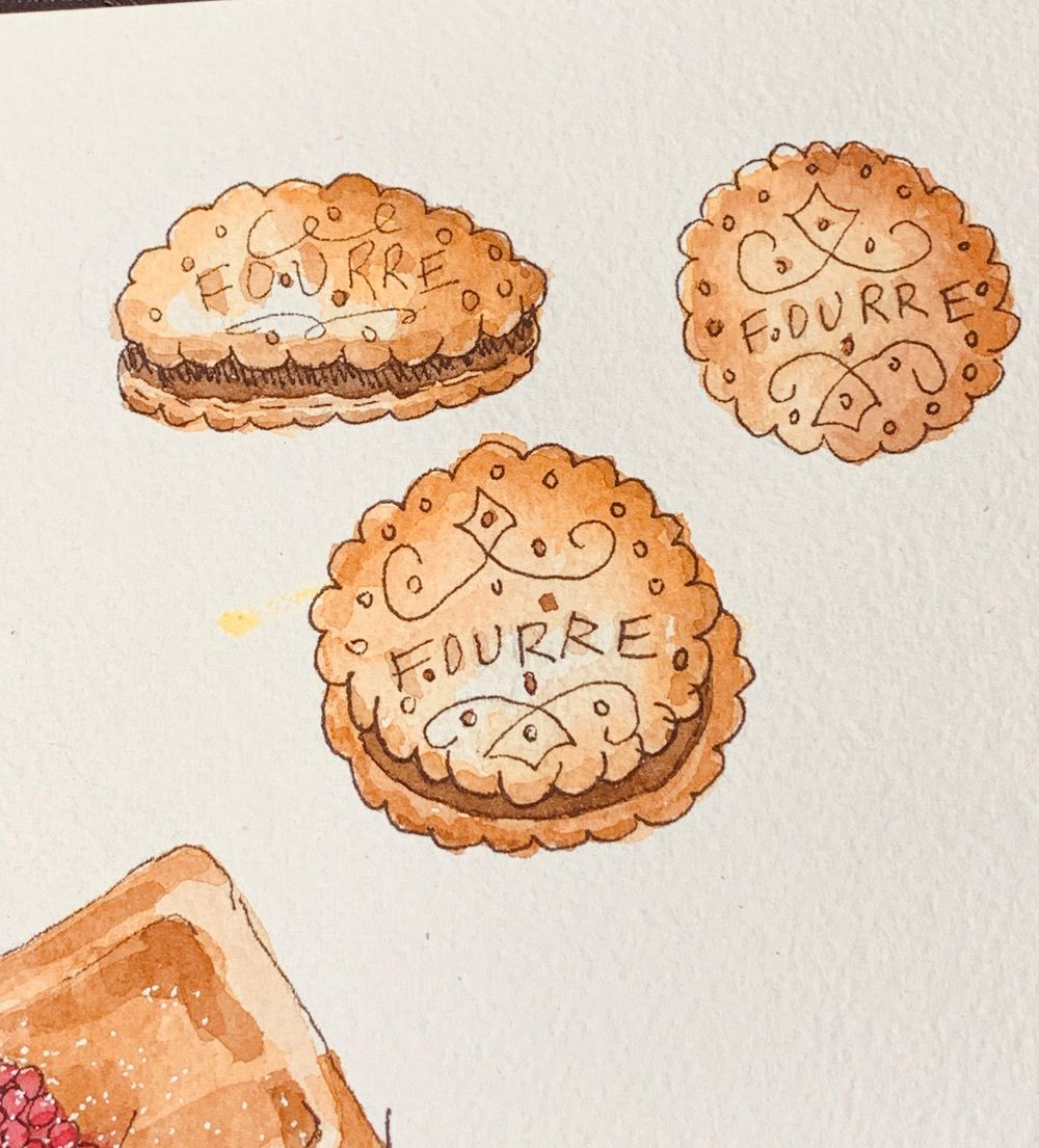 Pastries - image 1 - student project