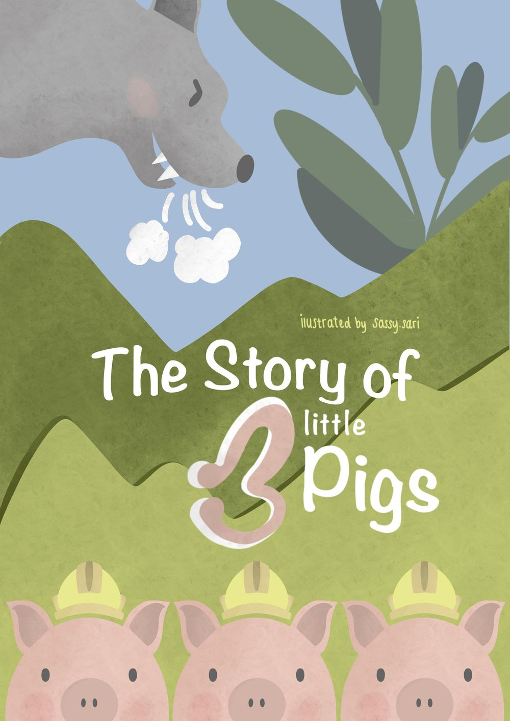 The Story of three little Pigs - image 4 - student project
