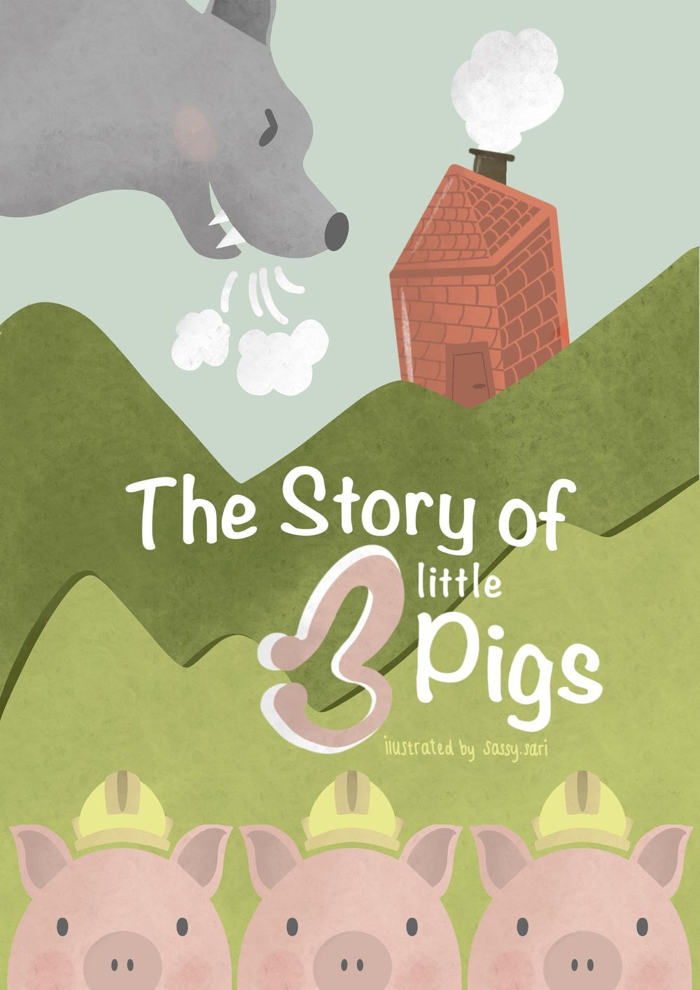 The Story of three little Pigs - image 3 - student project