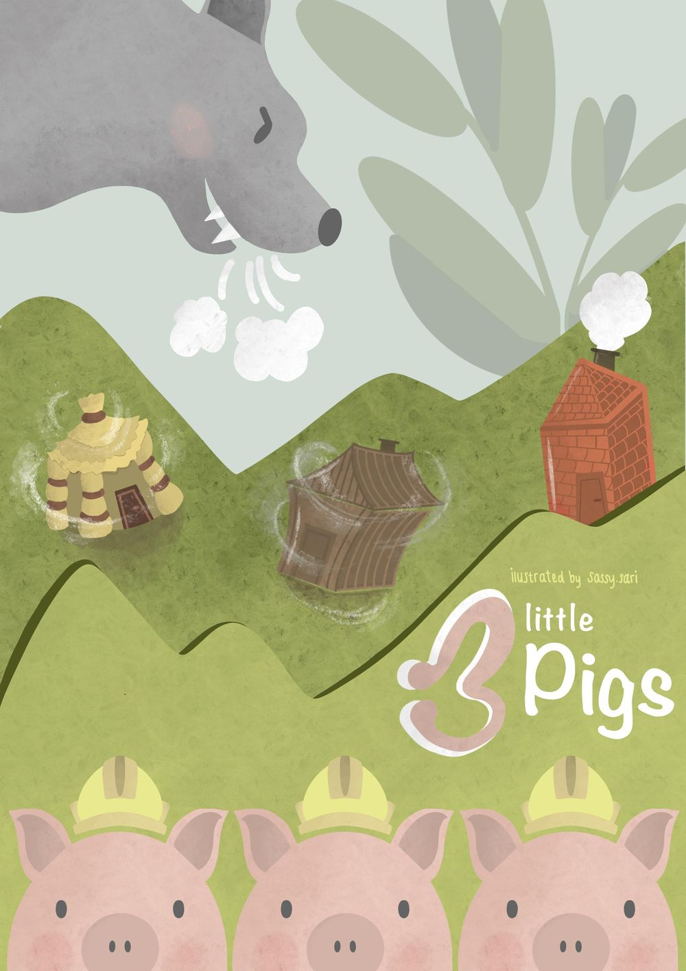 The Story of three little Pigs - image 2 - student project