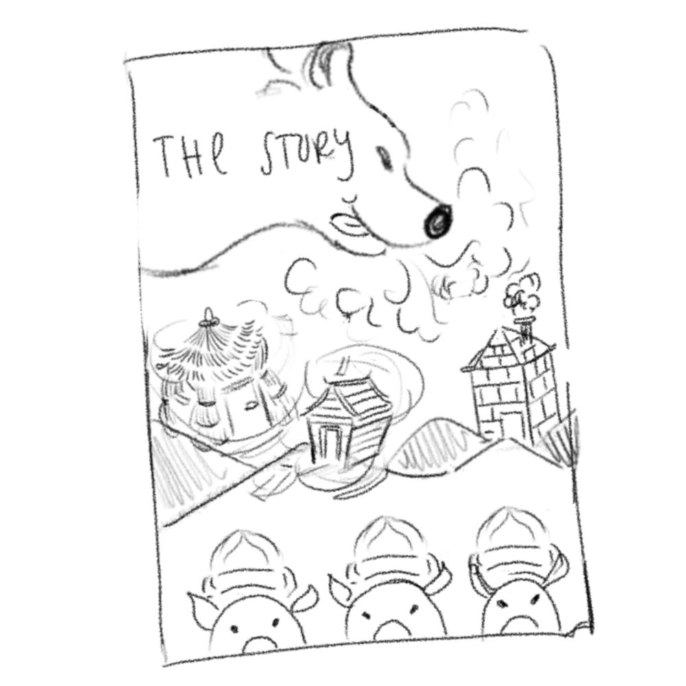 The Story of three little Pigs - image 1 - student project