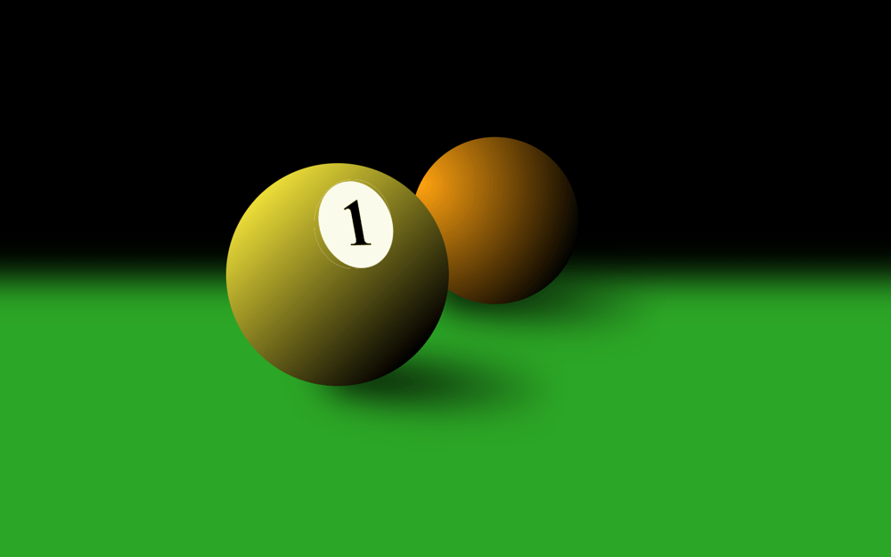 Pool Balls - image 2 - student project