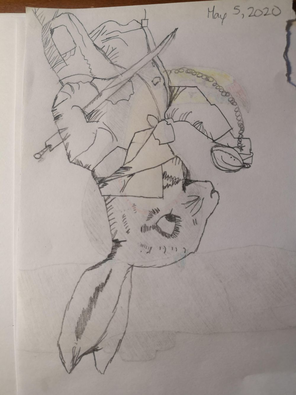 Upside Down Rabbit + Toucan! - image 1 - student project