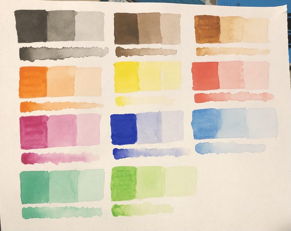 Colour Swatches - image 1 - student project