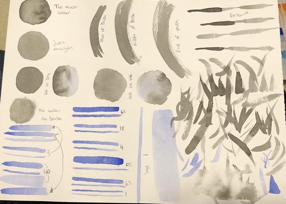 Watercolour Basics #2,3 & 4 - image 1 - student project