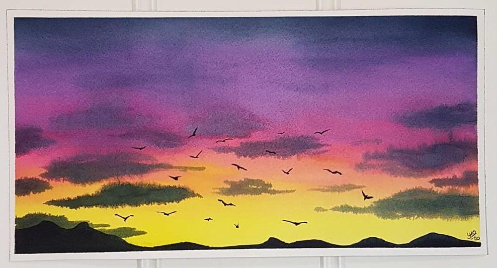 Skies, Clouds, and Birds - image 1 - student project