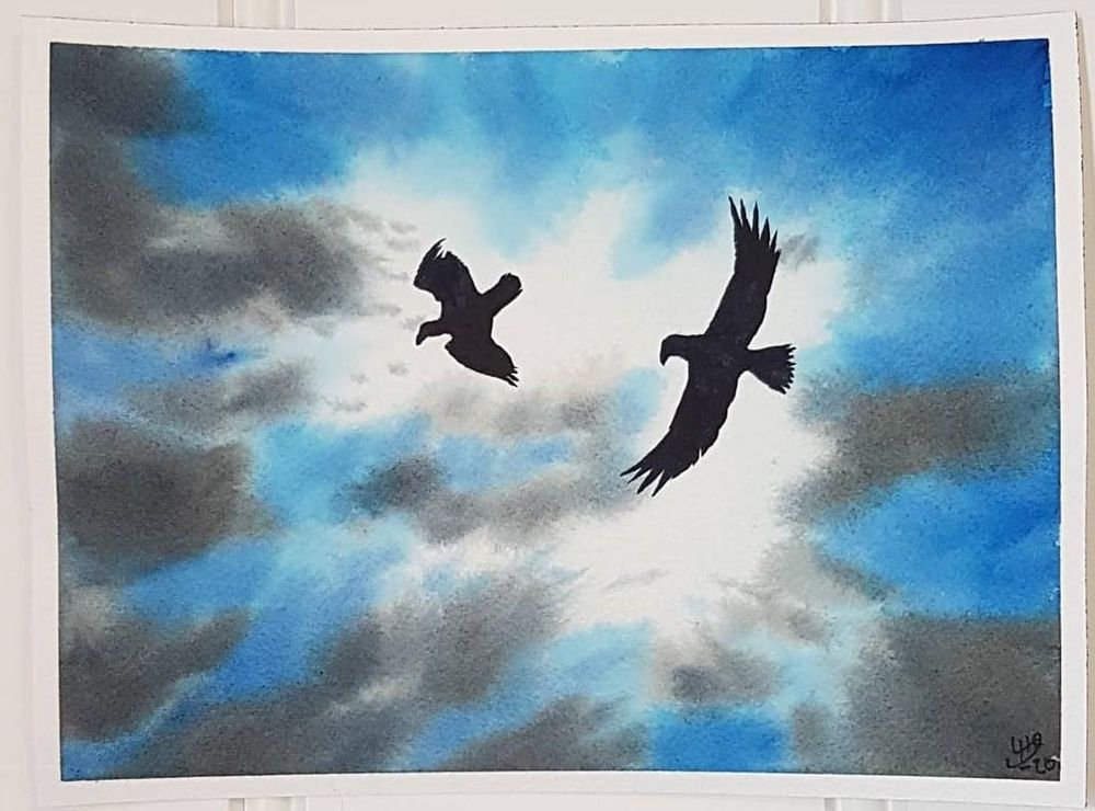 Skies, Clouds, and Birds - image 4 - student project