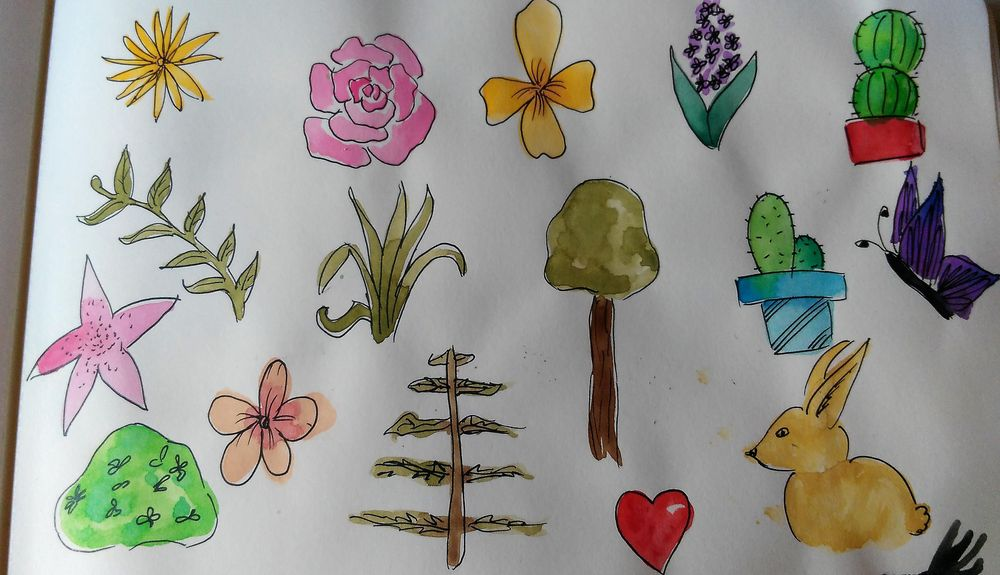 Magical Sketchbook - image 2 - student project