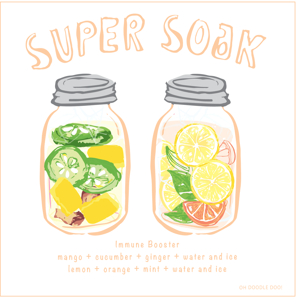SUPER SOAK - Infused water - image 3 - student project