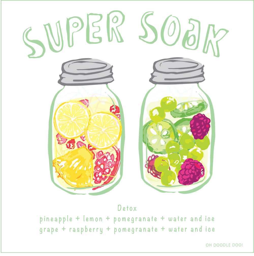 SUPER SOAK - Infused water - image 4 - student project