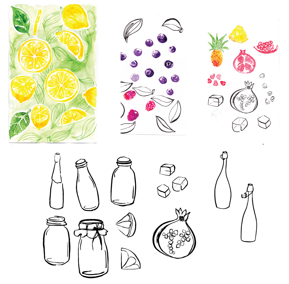 SUPER SOAK - Infused water - image 1 - student project