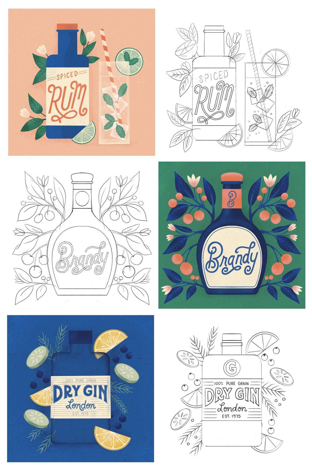 Illustration Style Exploration - image 4 - student project