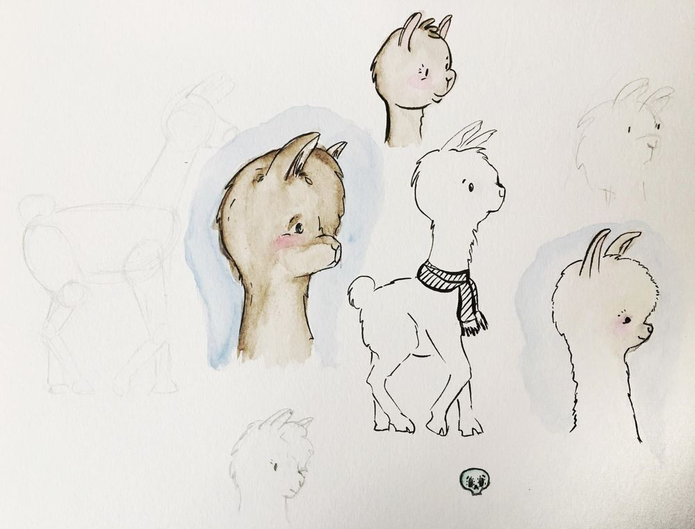 Llamas and Dinos - image 1 - student project