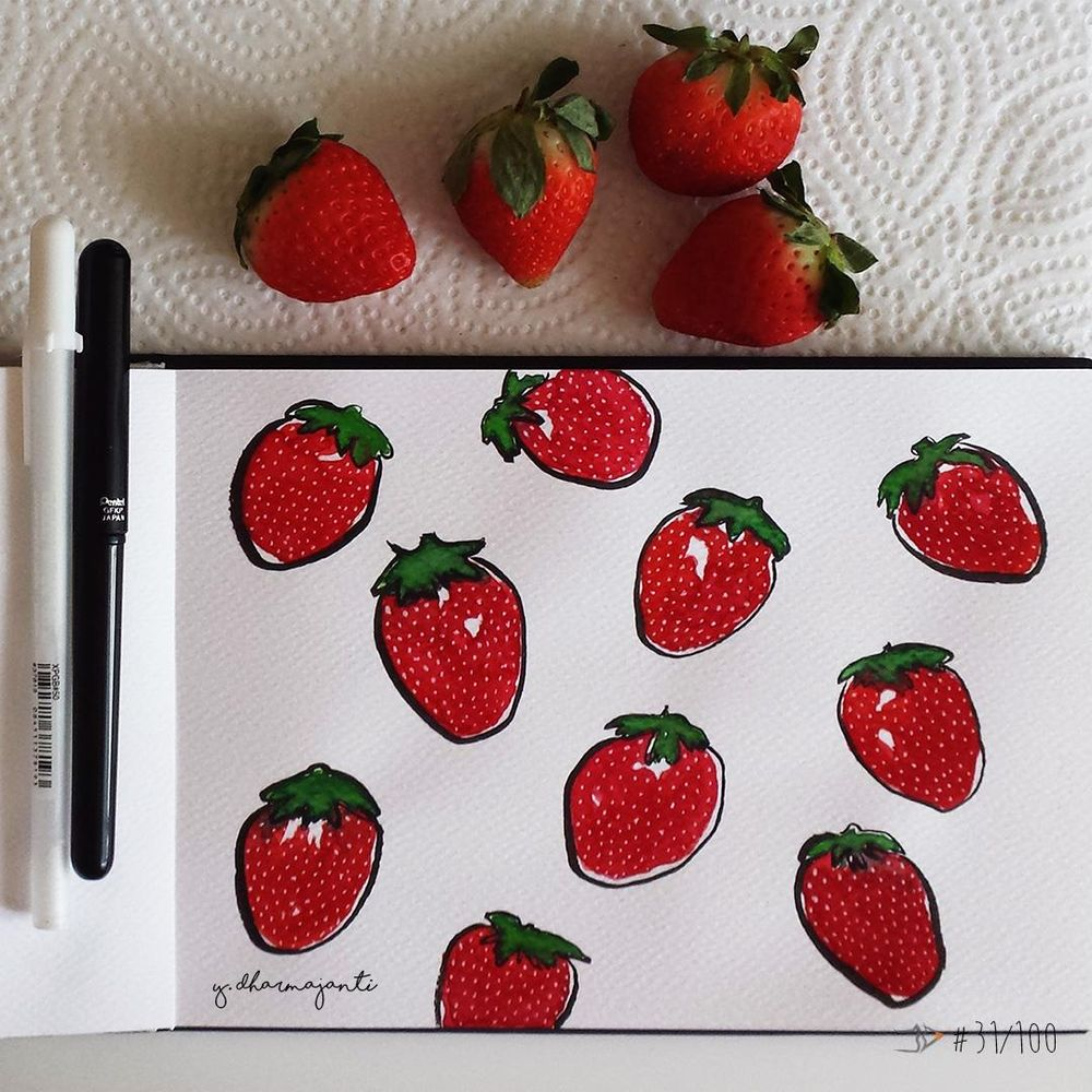 Fancy Strawberries - image 1 - student project