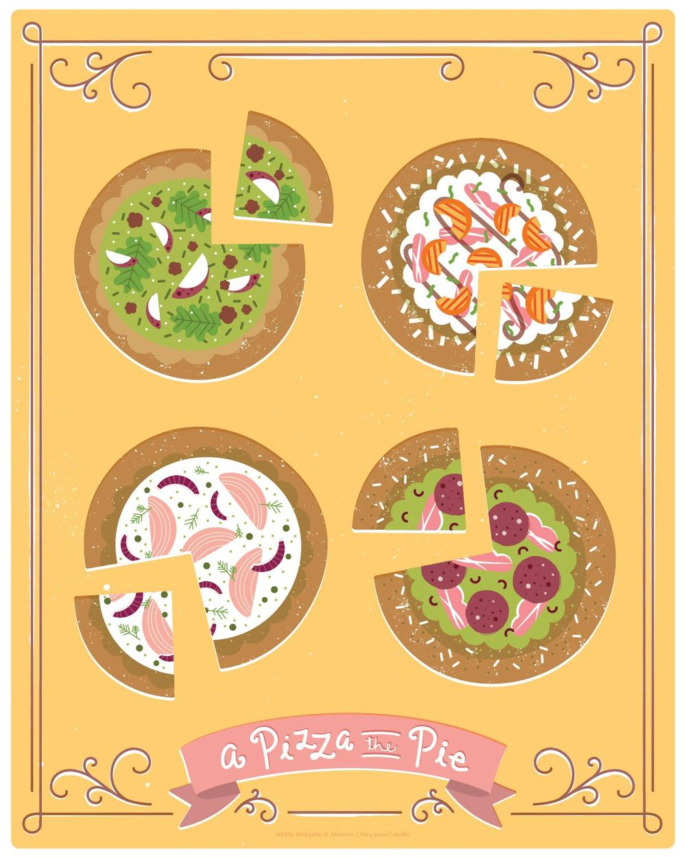 A Pizza the Pie - image 1 - student project