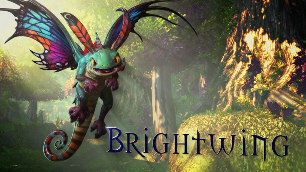 Brightwing the Faerie Dragon - image 1 - student project