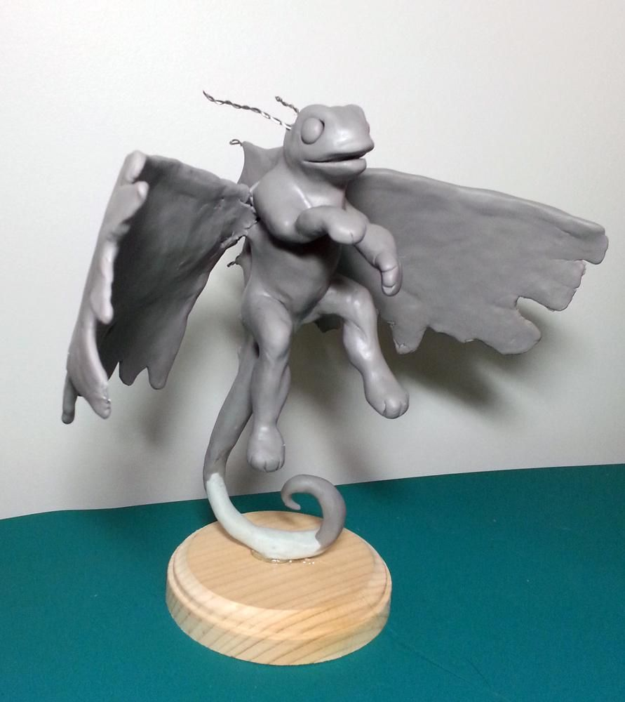 Brightwing the Faerie Dragon - image 3 - student project