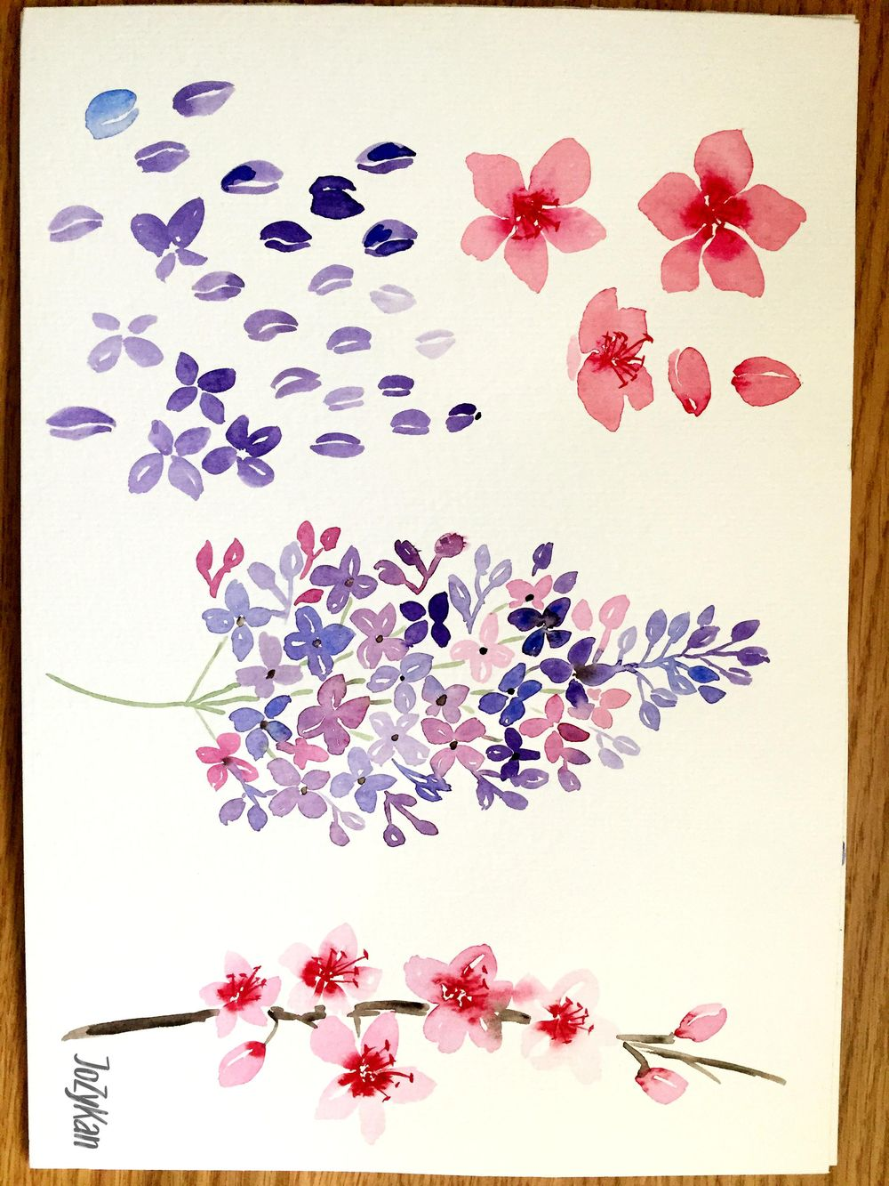 Loose spring florals - image 1 - student project