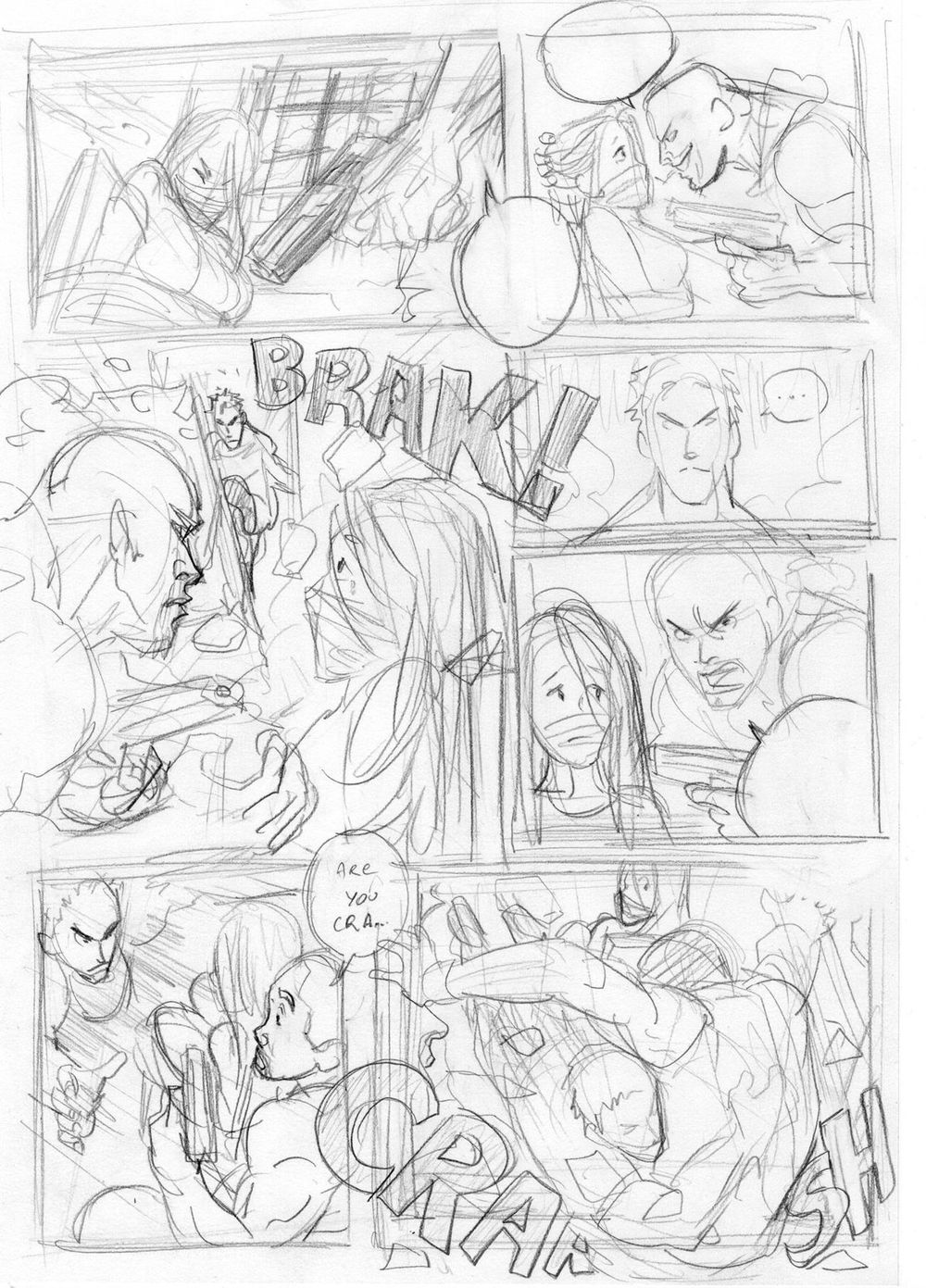 Comic page - image 5 - student project
