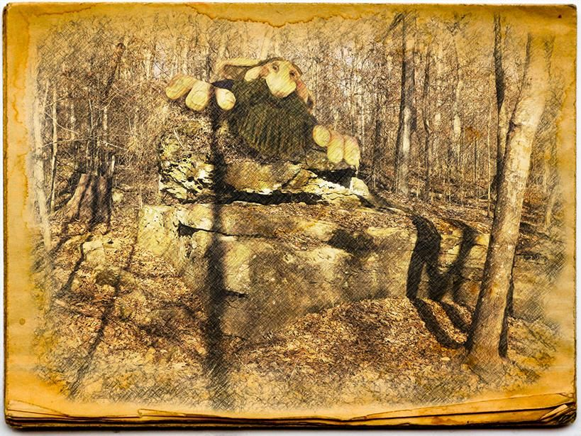 Giant in the woods - image 1 - student project