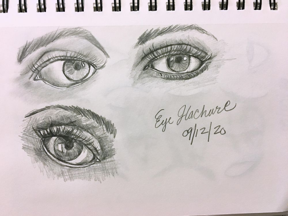 Eyes Hachure - image 1 - student project