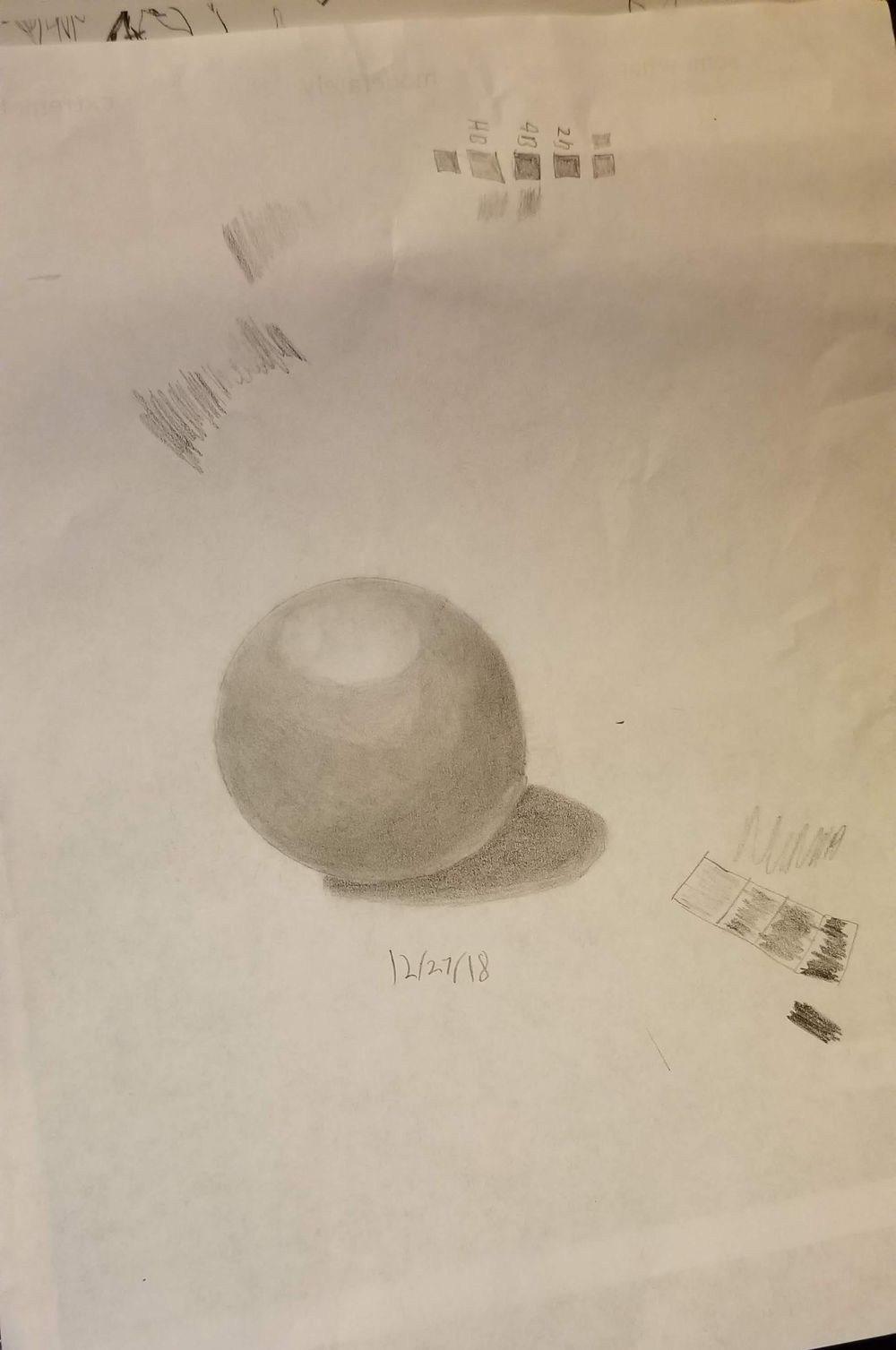 Sphere with shading - image 1 - student project