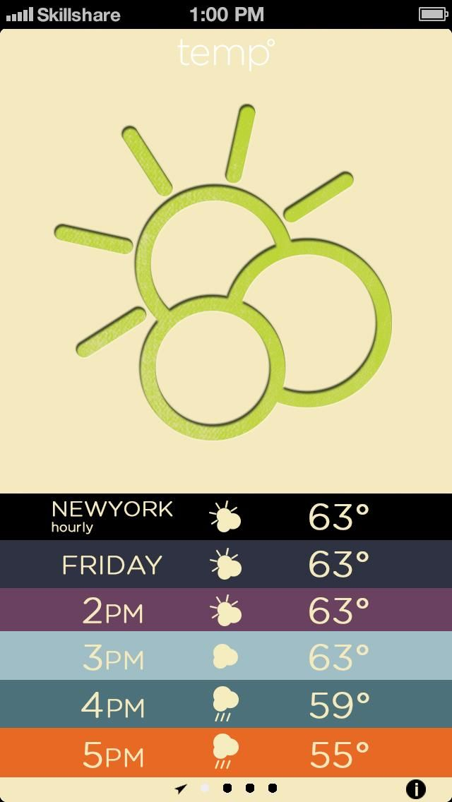 Letterpress Weather - image 5 - student project