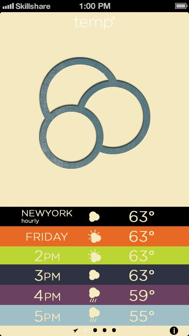 Letterpress Weather - image 4 - student project