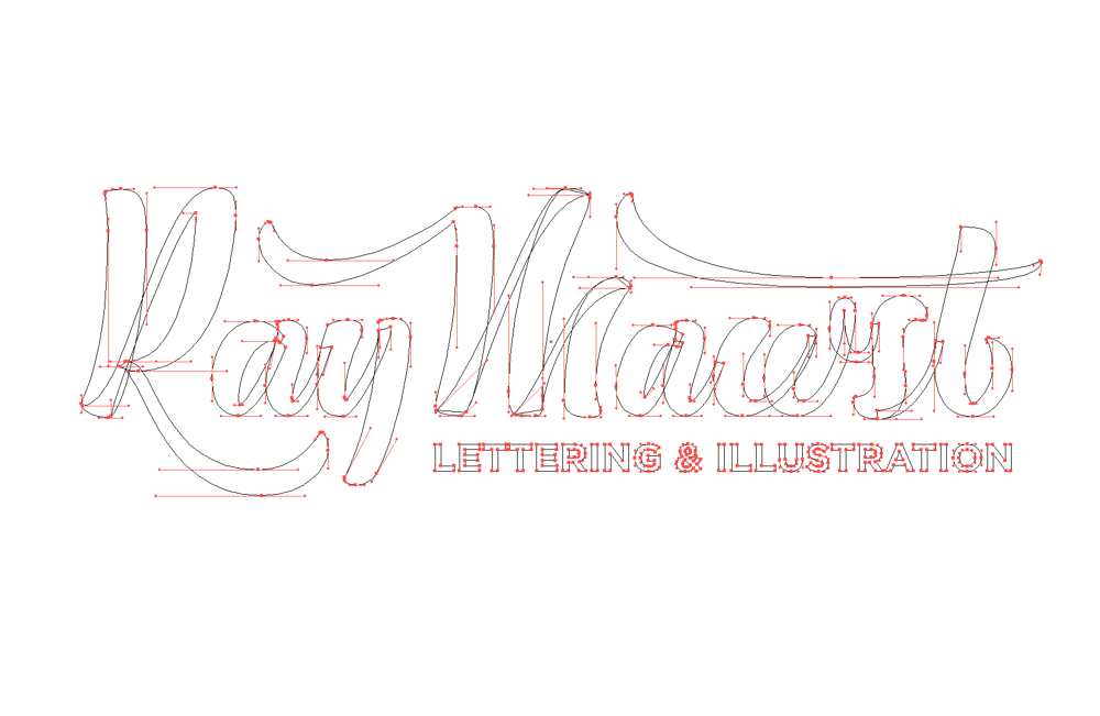 Ray Mawst - Lettering and Illustration - image 1 - student project