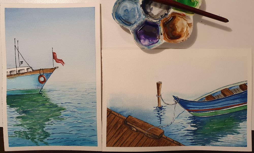 Seascapes - image 1 - student project