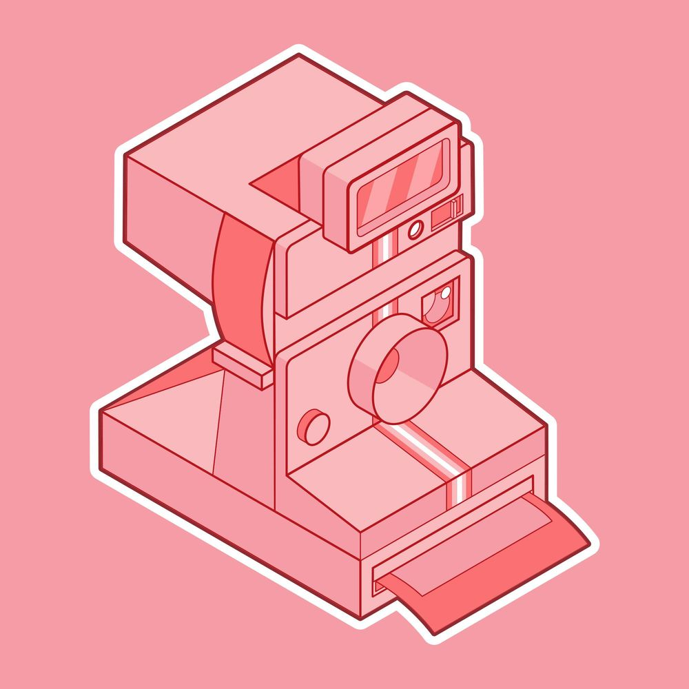 Pink Polaroid - image 3 - student project