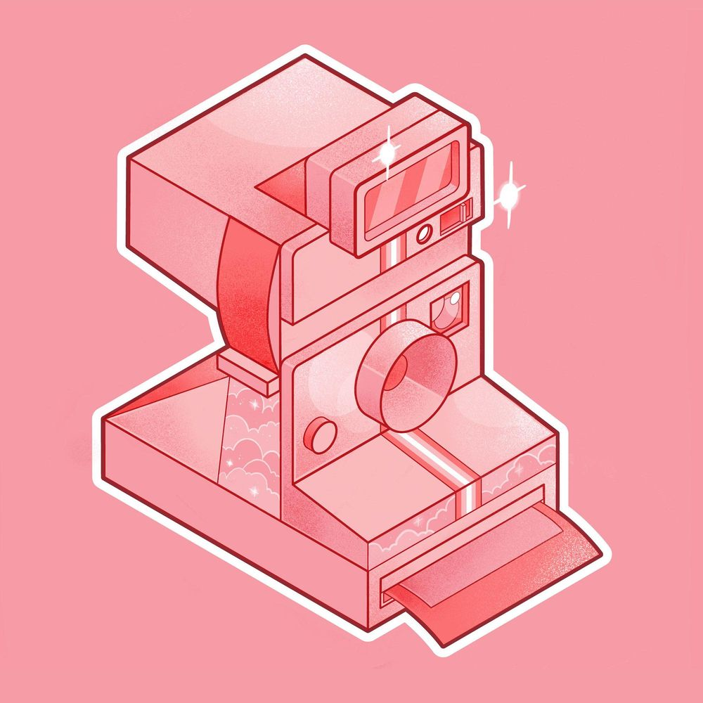 Pink Polaroid - image 4 - student project