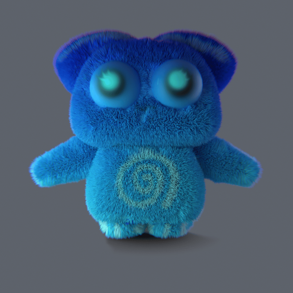 My first 3D character (Toopy Loopy) - image 3 - student project