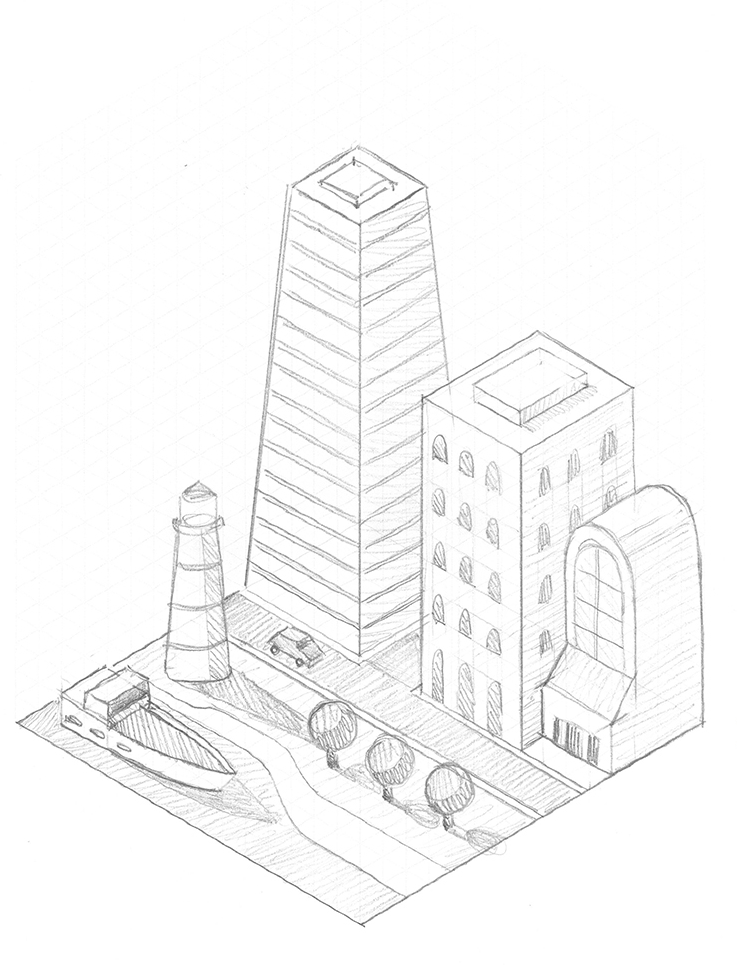 Isometric City - image 2 - student project