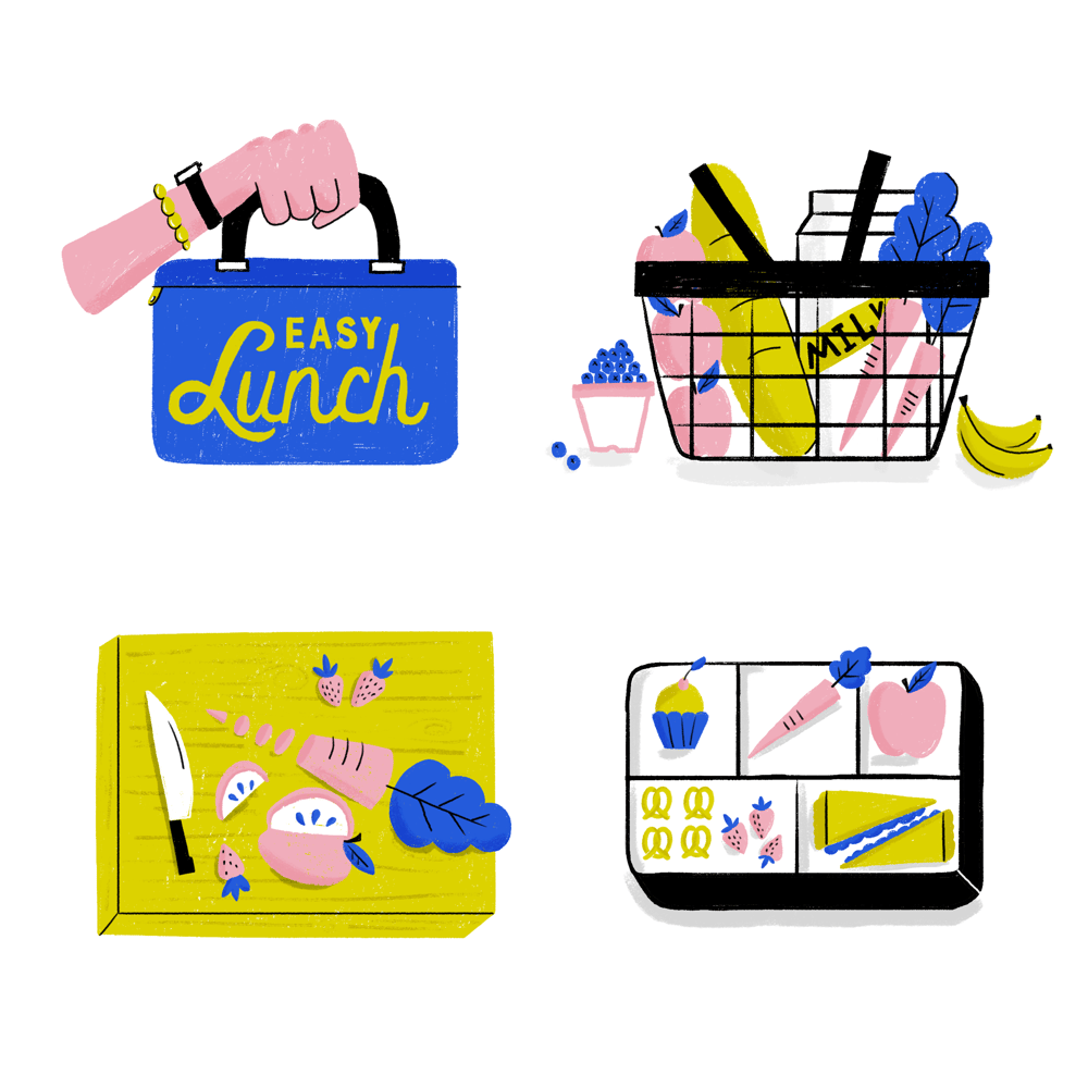 Making Kids Lunches - image 1 - student project
