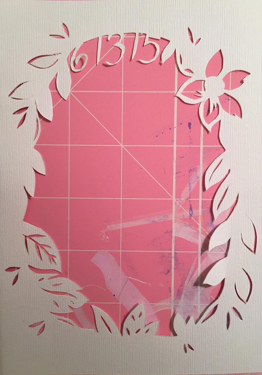 Congratulatory Wedding Card - image 5 - student project