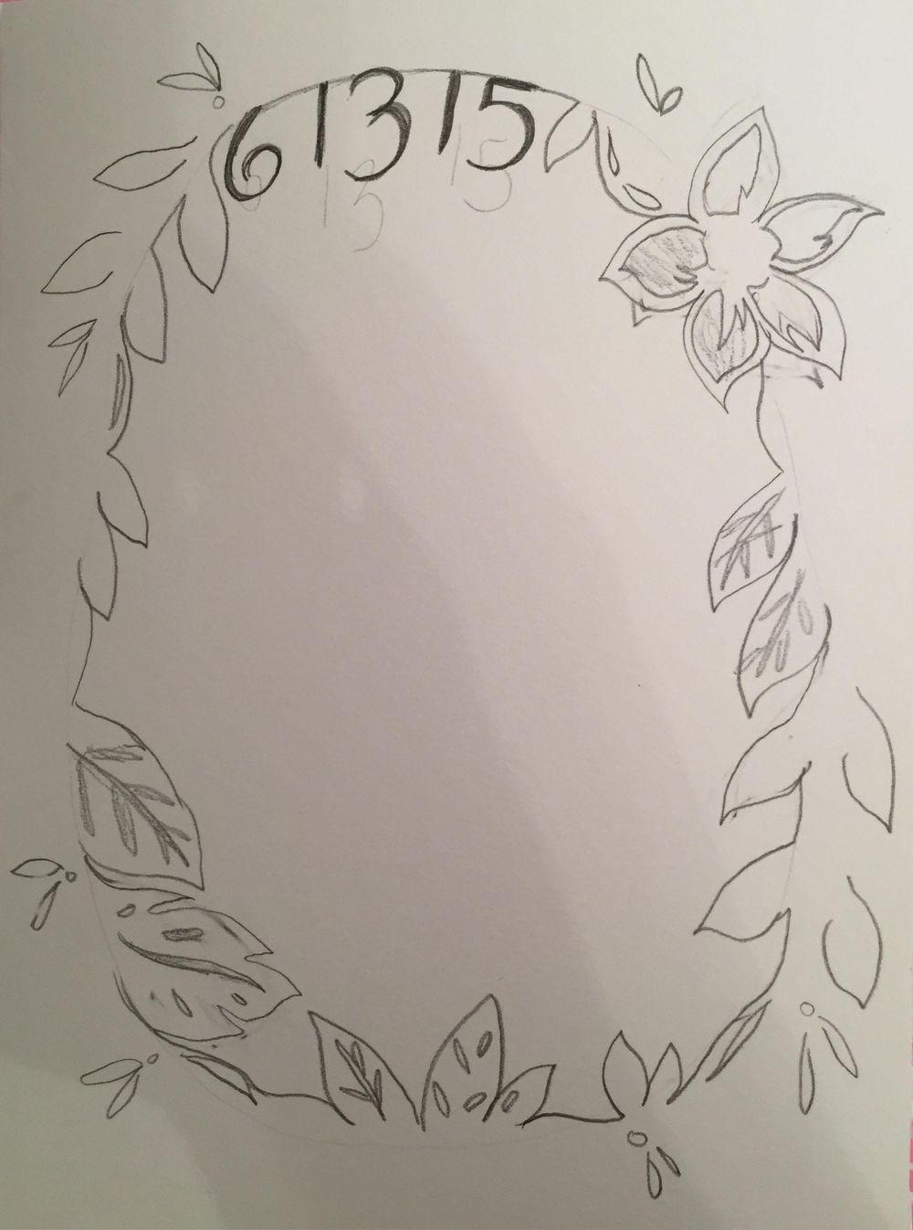 Congratulatory Wedding Card - image 2 - student project