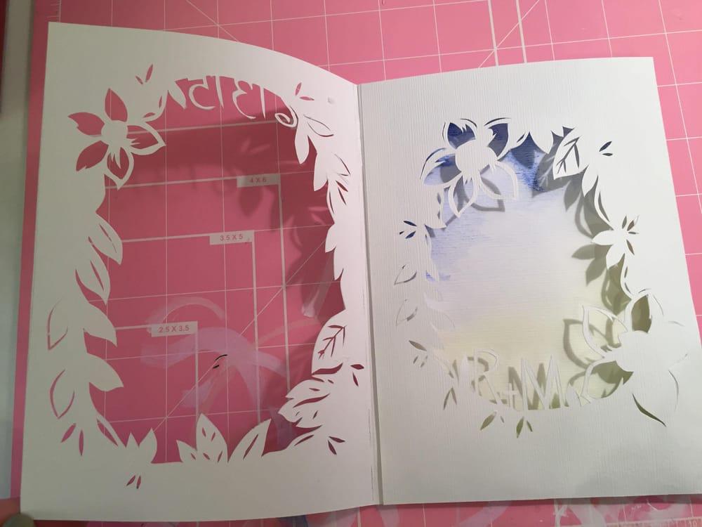 Congratulatory Wedding Card - image 7 - student project