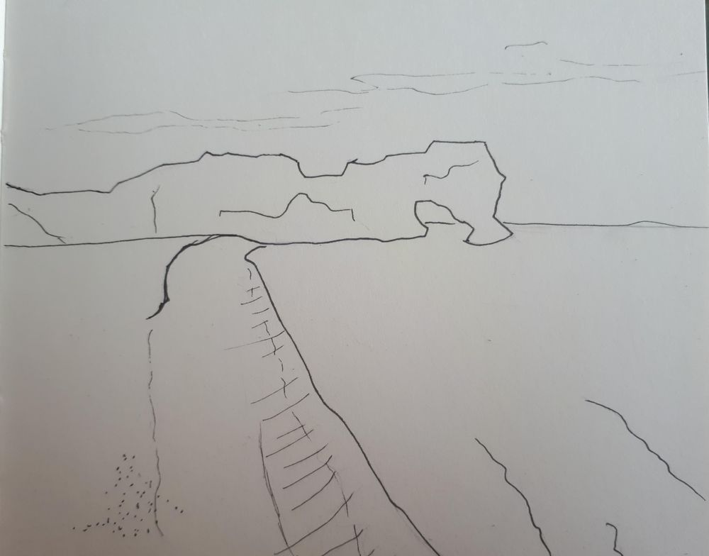 Fluffy bunny and beach landscape - image 2 - student project