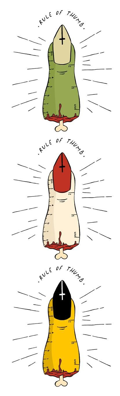 Idiom Project: Rule Of Thumb | Hit The Books - image 4 - student project