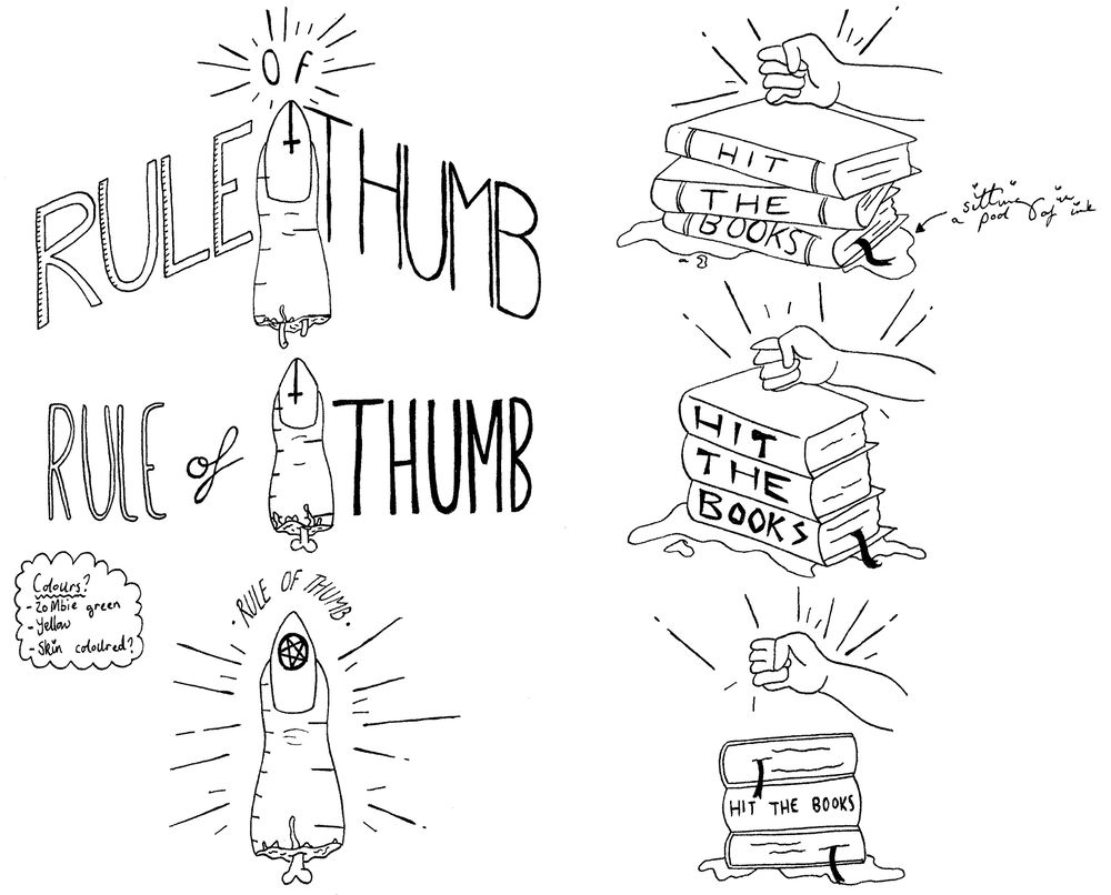 Idiom Project: Rule Of Thumb | Hit The Books - image 3 - student project