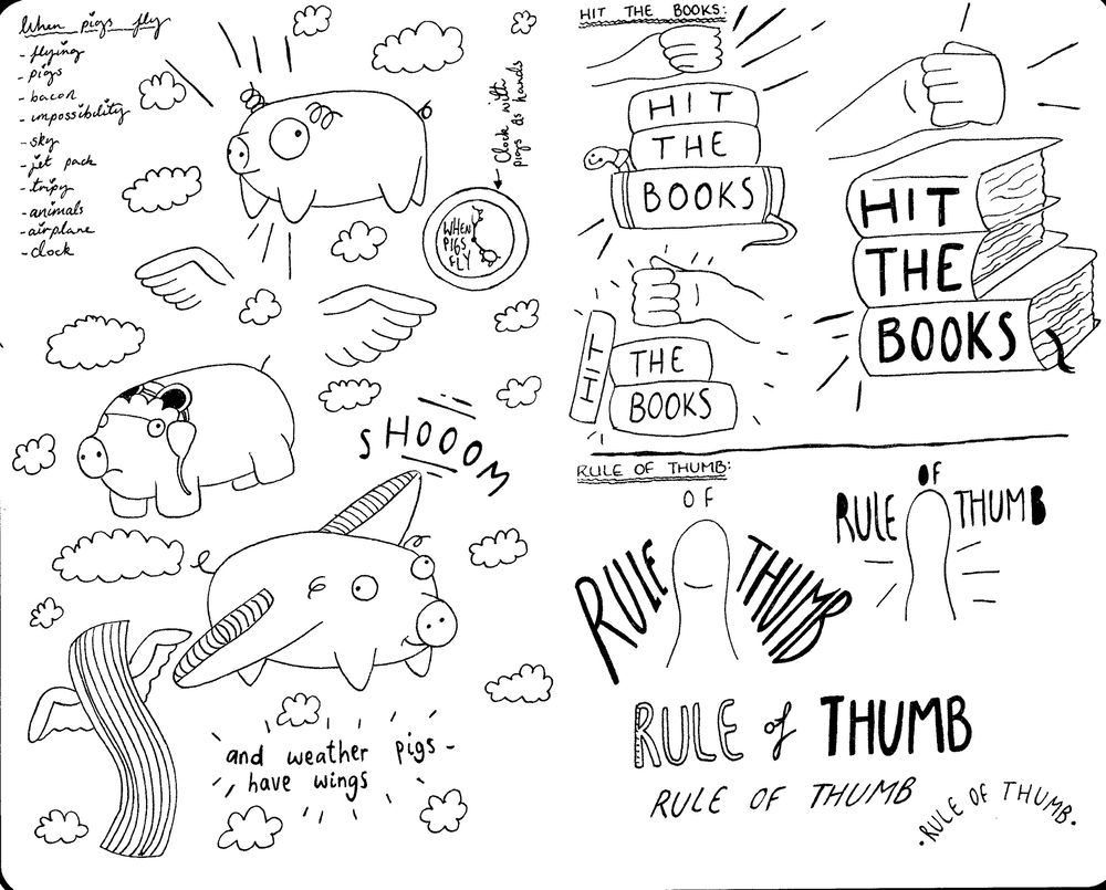 Idiom Project: Rule Of Thumb | Hit The Books - image 2 - student project