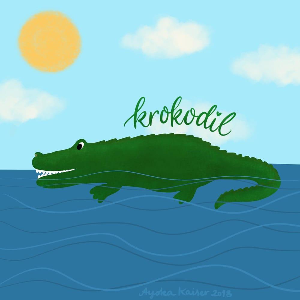 Barky Brush on Crocodile - image 1 - student project