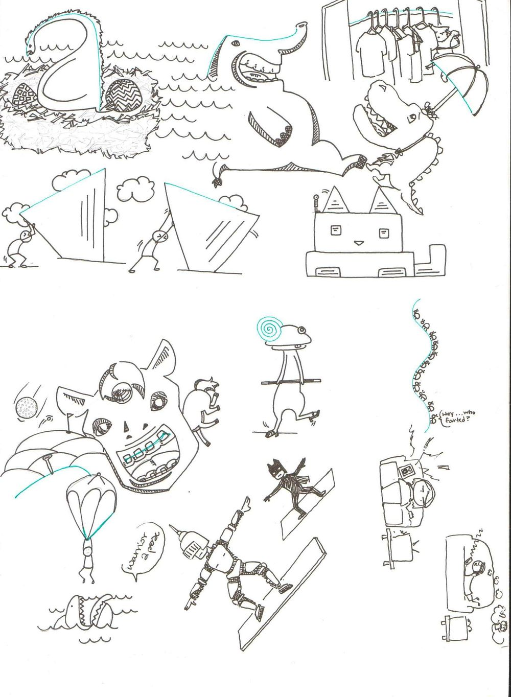 Doodlesheet - image 2 - student project